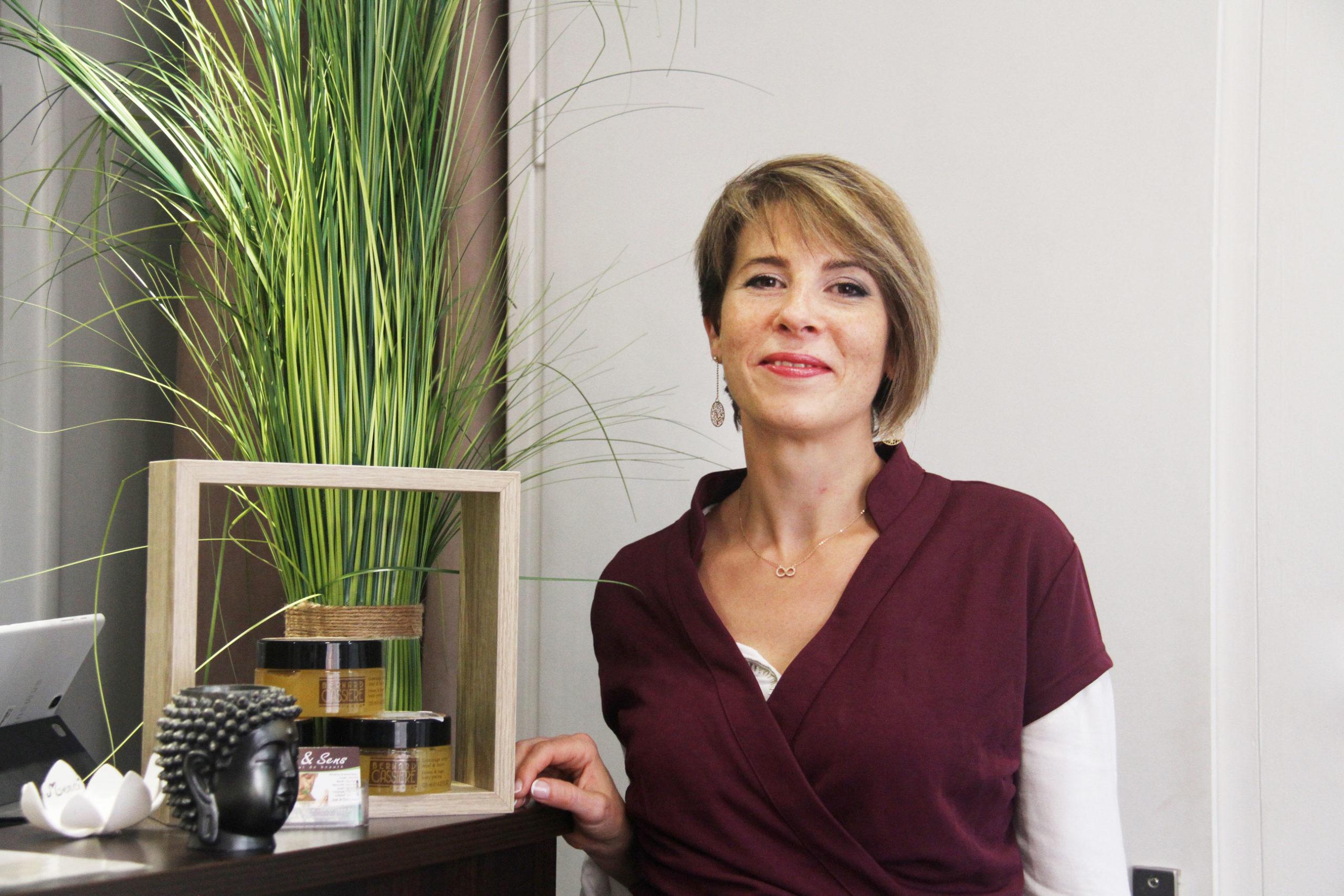 Isabelle esthéticienne Zen et Sens